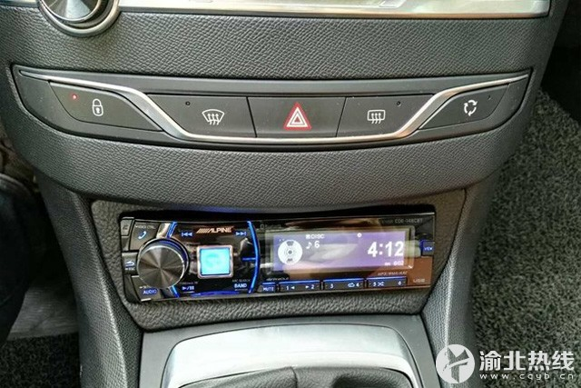 重庆久声 标致308汽车音响改装,惠威C2000 CF260 爱威V3 四门隔音高清图片
