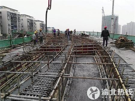 设施建设加速 回兴立交改造完工后将破解机场路拥堵